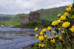 Castelo de Eilean Donan, Scotland Imagens de Stock Royalty Free