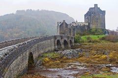 Castelo de Eileen Donan imagem de stock royalty free