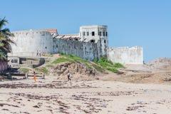 Castelo de Elmina Imagem de Stock