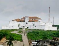 Castelo de Elmina em Ghana perto de Accra Foto de Stock Royalty Free