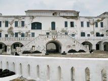 Castelo de Elmina na entrada de Ghana Fotos de Stock Royalty Free