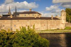 Castelo de Enniskillen condado Fermanagh Irlanda do Norte imagens de stock