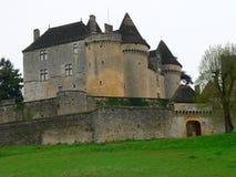 Castelo de Fenelon, Sainte-Mondane (França) fotos de stock royalty free