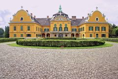 Castelo de Festetics, Nagyteteny, Hungria Imagens de Stock Royalty Free