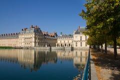 Castelo de Fontainebleau imagem de stock royalty free