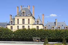 Castelo de Fontainebleau Foto de Stock Royalty Free
