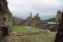 Castelo de Franchimont em B?lgica foto de stock royalty free