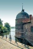 Castelo de Frederiksborg, Dinamarca Imagens de Stock Royalty Free