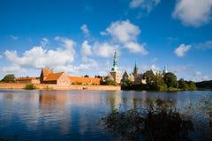 Castelo de Frederiksborg, Dinamarca Foto de Stock Royalty Free