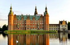 Castelo de Frederiksborg, Hillerod, Dinamarca fotografia de stock