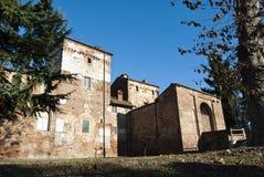 Castelo de Ghislieri em Lardirago Fotografia de Stock Royalty Free