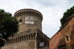 Castelo de Giulio II Ostia Fotografia de Stock Royalty Free