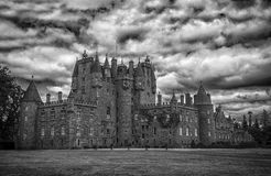Castelo de Glamis Fotografia de Stock Royalty Free