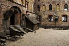 Castelo de Gniew Imagens de Stock Royalty Free
