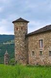 Castelo de Golaso. Varsi. Emilia-Romagna. Itália. Foto de Stock Royalty Free