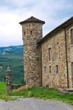 Castelo de Golaso. Varsi. Emilia-Romagna. Itália. Fotografia de Stock Royalty Free
