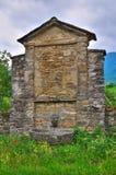 Castelo de Golaso. Varsi. Emilia-Romagna. Itália. Foto de Stock
