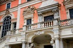 Castelo de Govone Itália Fotografia de Stock Royalty Free