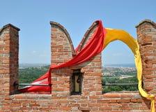 Castelo de Gradara Imagens de Stock