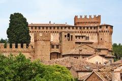 Castelo de Gradara, Itália central imagens de stock royalty free