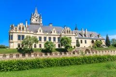 Castelo de Grafenegg perto de Viena, Baixa Áustria fotografia de stock