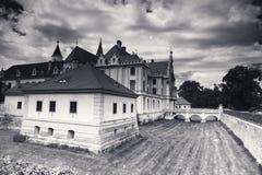 Castelo de Grafenegg no distrito de Krems da Baixa Áustria Fotos de Stock Royalty Free