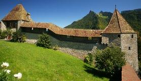 Castelo de Gruyeres Fotografia de Stock Royalty Free
