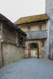Castelo de Gruyeres Imagens de Stock Royalty Free