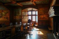 Castelo de Gruyeres Foto de Stock Royalty Free