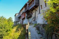 Castelo de Gruyeres Foto de Stock