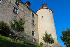 Castelo de Gruyeres Fotos de Stock