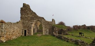 Castelo de Hastings foto de stock royalty free