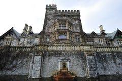Castelo de Hatley no console de Vancôver fotografia de stock royalty free