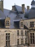 Castelo de Hautefort, Perigord (France) imagem de stock