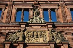 Castelo de Heidelberg imagem de stock royalty free