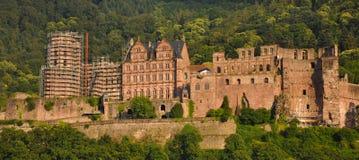 Castelo de Heidelberg Fotografia de Stock