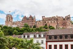 Castelo de Heidelberg em Alemanha imagem de stock royalty free