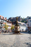 Castelo de Heidelberg em Alemanha Imagens de Stock Royalty Free