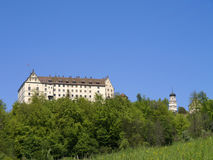 Castelo de Heiligenberg perto de Ãœberlingen - Linzgau, Baden-Wurttember imagem de stock royalty free