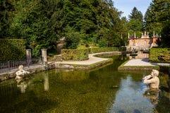 Castelo de Hellbrunn Fotografia de Stock
