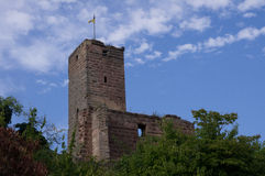 Castelo de Hilpoltstein Fotografia de Stock Royalty Free