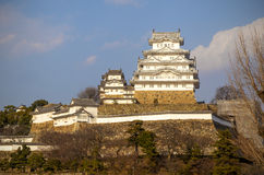 Castelo de Himeji imagem de stock royalty free