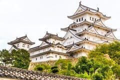 Castelo de Himeji, Japão Imagens de Stock