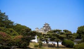 Castelo de Himeji, Japão Fotografia de Stock Royalty Free
