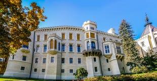 Castelo de Hluboka na república checa Imagem de Stock