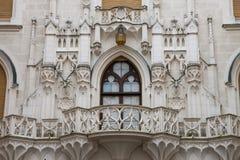 Castelo de Hluboka nad Vltavou Foto de Stock