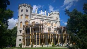 CASTELO DE HLUBOKA, REPÚBLICA CHECA imagens de stock royalty free