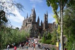 Castelo de Hogwarts Fotografia de Stock