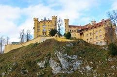 Castelo de Hohenschwangau Fotografia de Stock Royalty Free