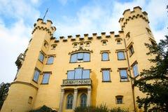 Castelo de Hohenschwangau em Baviera, Alemanha Fotografia de Stock